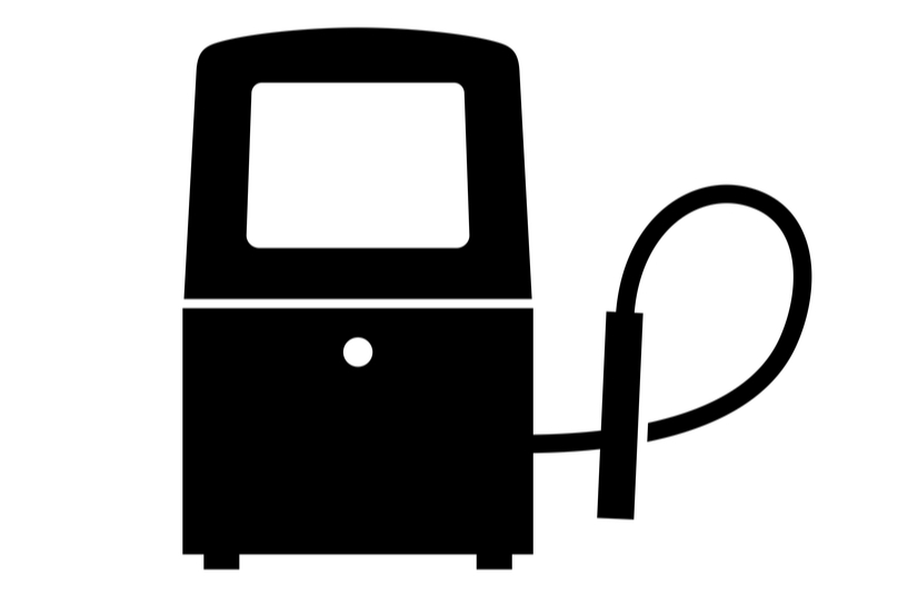 Marking and coding equipment symbol